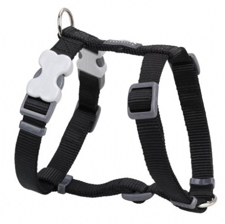 Red Dingo Dog Harness Classic Black